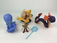 Imaginext Ocean Submarine Octopus Sea Serpent 6pc Lot Figures Toys Fisher Price