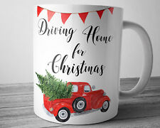 Christmas Truck Mug Red Truck With Christmas Tree Quote Coffee Cup 11 oz