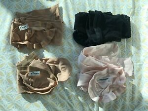 Dance tights, 4 pairs