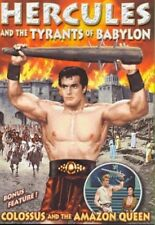 Colossus and the Amazon Queen/Hercules and the Tyrants of Babylon (DVD,2007) New