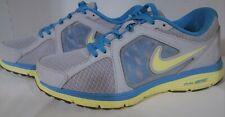 2012 Nike Dual Fusion Run,525752-012,Women's,Wolf/Gray/Yellow/Blue,US8.5 Eur40