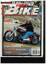 HOT BIKE AUGUST 1999 SEE CONTENT '99 BUELL CYCLONE CUSTOM STREET CHOPPERS