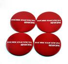 4x45mm Work Emotion Red Car Wheel Center Cap Emblem Sticker