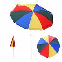 2M Sonnenschirm GartenSchirm Marktschirm Ampelschirm Balkonschirm UV Schutz  neu