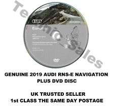 GENUINE ORIGINAL Audi RNS-E 2018-2019 Navigation Plus Sat Nav Map DVD disc