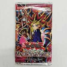 YU-GI-OH MAGICIAN'S FORCE UNOPENED ENGLISH EDITION FOIL PACK