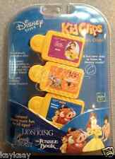 NEW Disney Tunes KIDCLIPS Kid Clips Music Chip 3-Pack BELLE JUNGLE BK LION KING