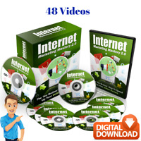 Internet Marketing Mastery - 48 Video Course + Digital Download - Resale Rights