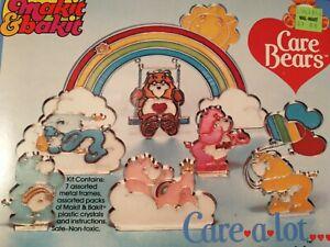 Vintage 1983 Care Bears Makit Bakit Suncatchter Kit New in Box Sealed Care A Lot