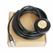 NMO Mount Magnetic Base PL259 Plug for Kenwood TK-7360HV TK-8360H Mobile Radio