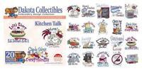 Dakota Collectibles Embroidery Machine Design CD - Kitchen Talk 970253