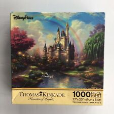Disney Parks Kinkade A New Day At The Cinderella Castle 1000 Piece Puzzle Ceaco