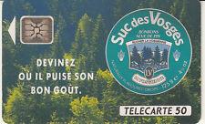 France télécarte 50  Suc des Vosges