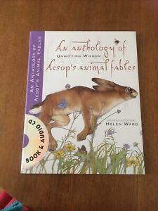 Aesop's Fables by Helen Ward (Paperback, 2007) Beautiful Illustrations. With CD