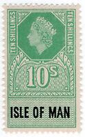 (I.B) Elizabeth II Revenue : Isle of Man 10/-