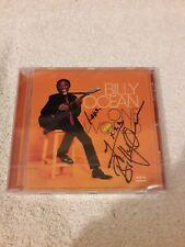 Billy Ocean - One World (CD) (2020) Signed/Autographed