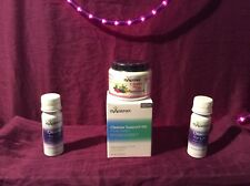 Isagenix 2 bottles CLEANSE FOR LIFE 2oz Travel Size + 1 jar + 1 4day cleanse kit