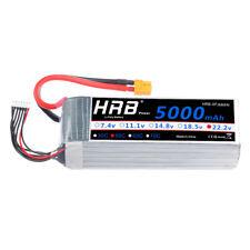 HRB 22.2V 5000mAh 6S Lipo Batterie 50C-100C XT60 Stecker für RC Flugzeug Akku