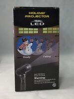 EZ Illuminations Holiday Projector LED Snowman New in Box Christmas Holiday