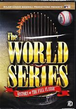 Mlb The World Series History of the Fall Classic Deluxe 2 Disc Set Dvd 2012 New