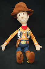 "Disney Toy Story Woody Sheriff Doll Hat Vest Boots Hangable Plush 22"" Toy Pixar"