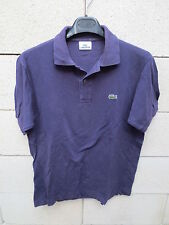 Polo LACOSTE Devanlay prune 3 manches courtes