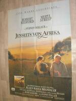 A0 Filmplakat JENSEITZ VON AFRIKA, ROBERT REDFORD,MERYL STREEP