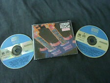 LEGENDARY ROCK ULTRA RARE AUSTRALIAN ONLY DOUBLE CD! STATUS QUO HENDRIX 10CC