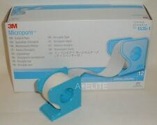 "3M MICROPORE Paper Surgical Tape Dispenser 1""x10Yd 1 2 4 6 Eyelash Extension USA"