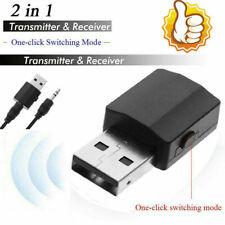 2 in1 Stereo Audio Adapter Bluetooth 5.0 Sender Empfänger 3.5 mit Aux KKabe N6C9