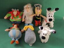 Asterix & Obelix LIDL 60 ans collection complète de 7 peluches , soft toy plush