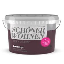 Schöner Wohnen Trendfarbe Lounge cremige Wandfarbe Deckenfarbe für Innen Matt 1l