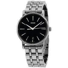 Rado DiaMaster Black Dial Ceramic Ladies Watch R14064177