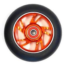 2x Bulletproof Scooter Wheels Metal Alloy Core 100mm ABEC 9 Anodized Orange