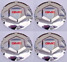 "Set 4pcs 02-07 GMC Envoy 02-06 XL 04-05 XUV Chrome Center Wheel Hub Caps 17"" Rim"