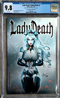 Lady Death Unholy Ruin #1 Dawn McTeigue Metal Edition CGC 9.8 Only 26 Made