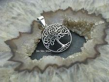 Kettenanhänger Baum des Lebens Silber 925 Lebensbaum Weltenbaum Mythenmotiv