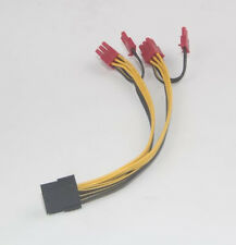 18AWG 8-pin to 2x 6+2-pin (6-pin/8-pin) Power Splitter Cable PCIE PCI Express
