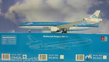 HOGAN Wings 1:200 Mc Donnell Douglas md-11 KLM PH-KCB + Herpa WINGS Catalogo