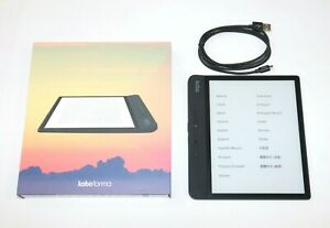 Kobo Forma eBook Reader 8 Zoll Touch Screen - WLAN - Schwarz - Teildefekt