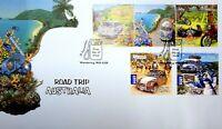AFD1094 B) Australia 2012 Road Trip Australia FDC set. Price: $8.70