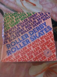 Roller Derby Roller Star model 960 Girls Roller Skates Size 6 vintage