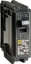 Square D  HomeLine  Single Pole  20 amps Circuit Breaker