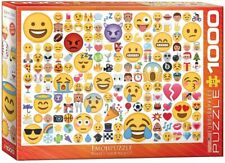 Eurographics - Emoji -What's your Mood 1000 piece jigsaw from 9 years NEW