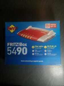 AVM FRITZ!Box - 5490 - WLAN Router / Glasfaser Fiber / (20002747)