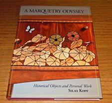 Marquetry Odyssey Silas Kopf Woodworking Art Craftsman History Carpentry Design