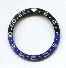 Bezel Insert ceramic GMT II black/blue Approx. 37.83 x 30.50 mm  For Rolex