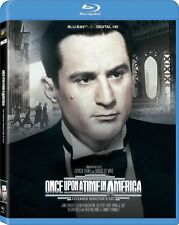 Blu Ray ONCE UPON A TIME IN AMERICA extended directors cut. Region free. New.