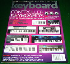 OSCAR PETERSON Solo, 20 Controller Keyboard s Reviewed E-MU, KORG, 2007 Magazine