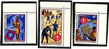DAHOMEY SCOTT C154-56 PERF & IMPERF SET OF 3 STAMPS & S/S BOY SCOUTS MNH VF 1972